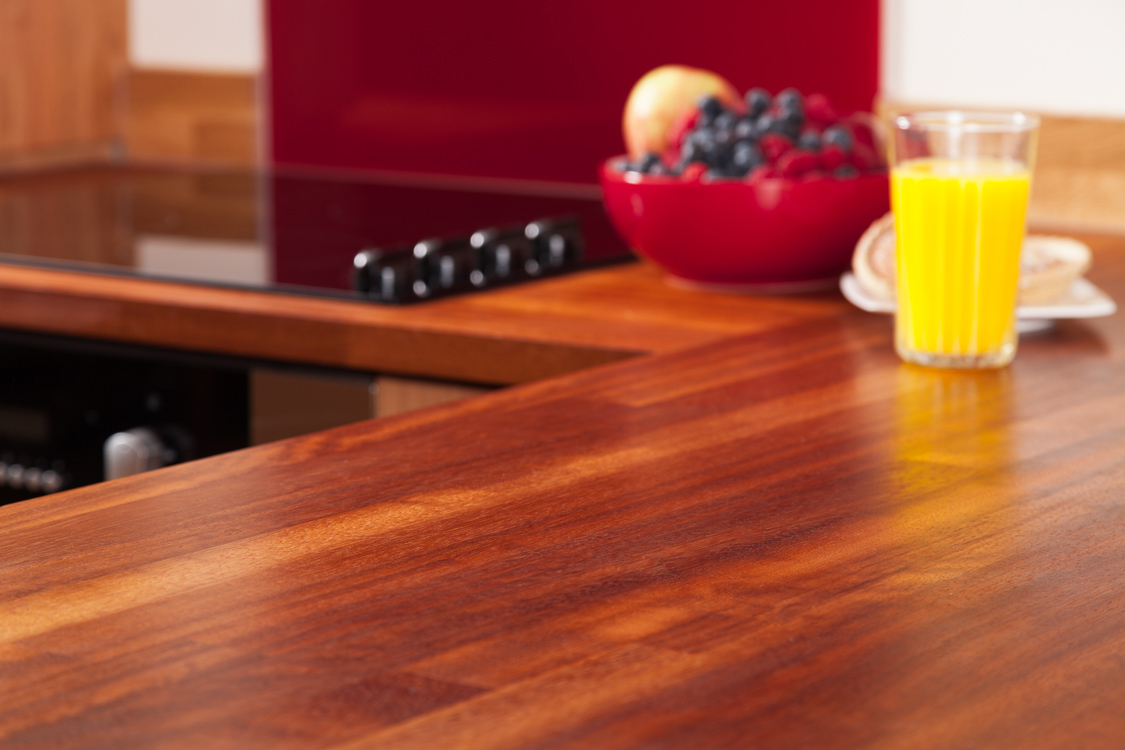 kitchen worktop solid iroko kitchen worktops with 40mm staves, joined with a butt joint. UXNSXKO