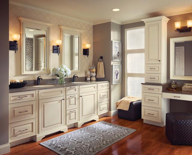 kraftmaid cabinets kraftmaid kitchen u0026 bathroom cabinets gallery | kitchen cabinet kings  traditional-bathroom CTKLFDP