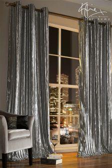 kylie iliana silver curtains LXHKIOE