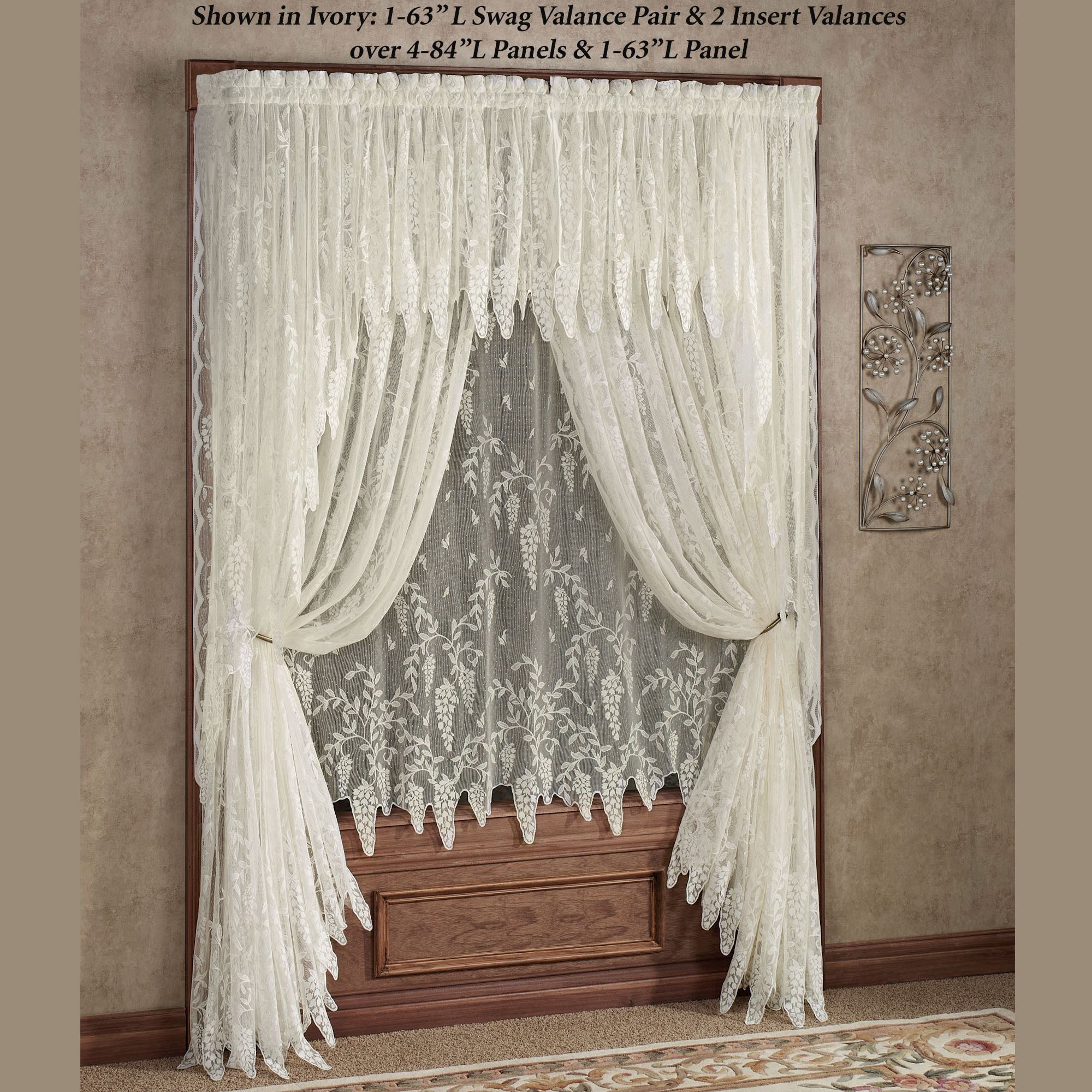 Exquisite Lace Curtains for Your Vintage Home Interior