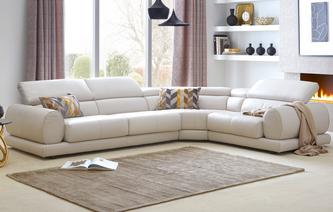 leather corner sofa vittorio option i right hand facing 1 corner 2 sofa new club iconica WTBIAUW