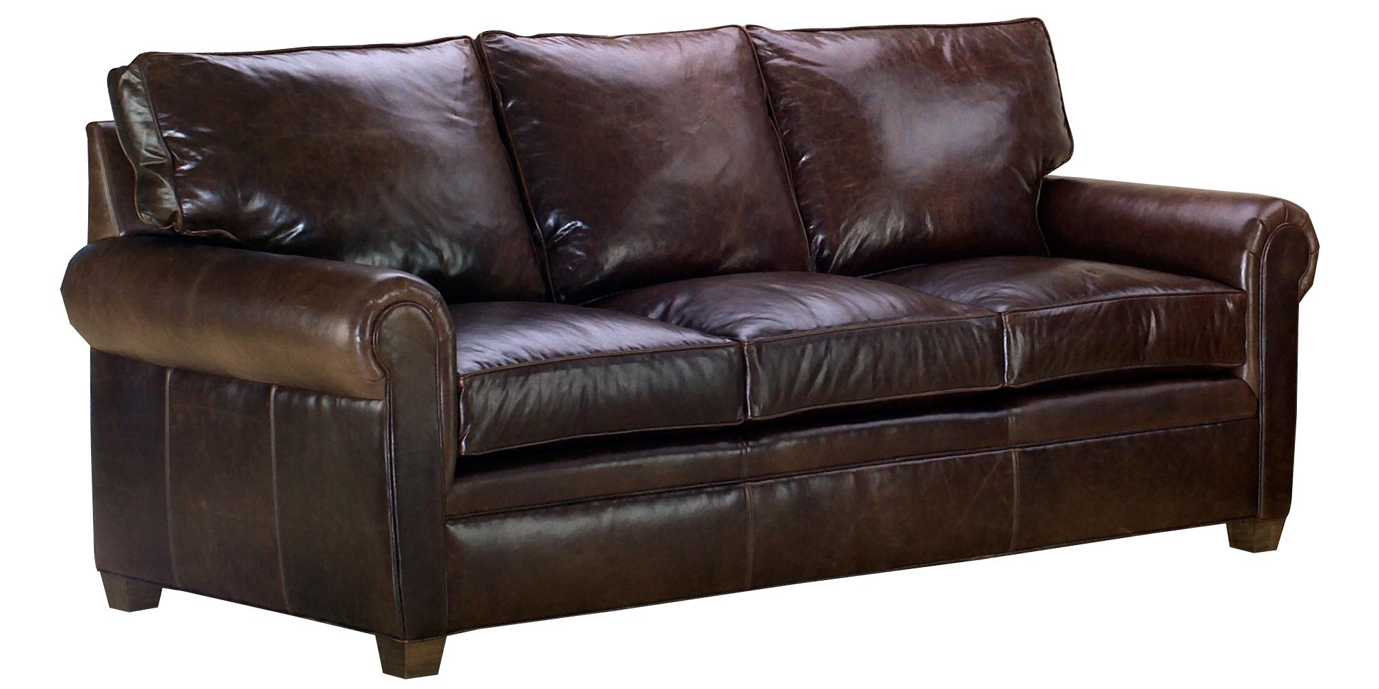 leather furniture rockefeller rolled arm sofa set JNABSFM