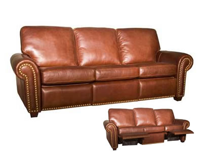 leather reclining sofa aurora leather recliner sofa RLVXPJL
