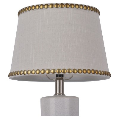 light shade nailhead trim lamp shade small cream - threshold™ AETIVIS