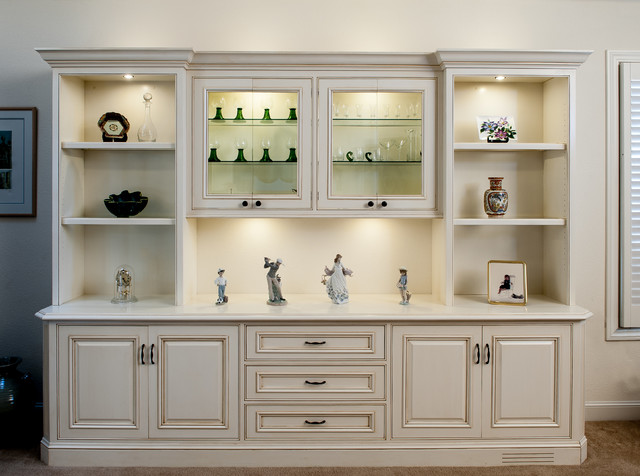 living room cabinets painted and glazed display cabinet traditional-living-room ZBOEXOB
