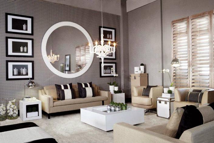 living room mirrors ideas ODIGDUN