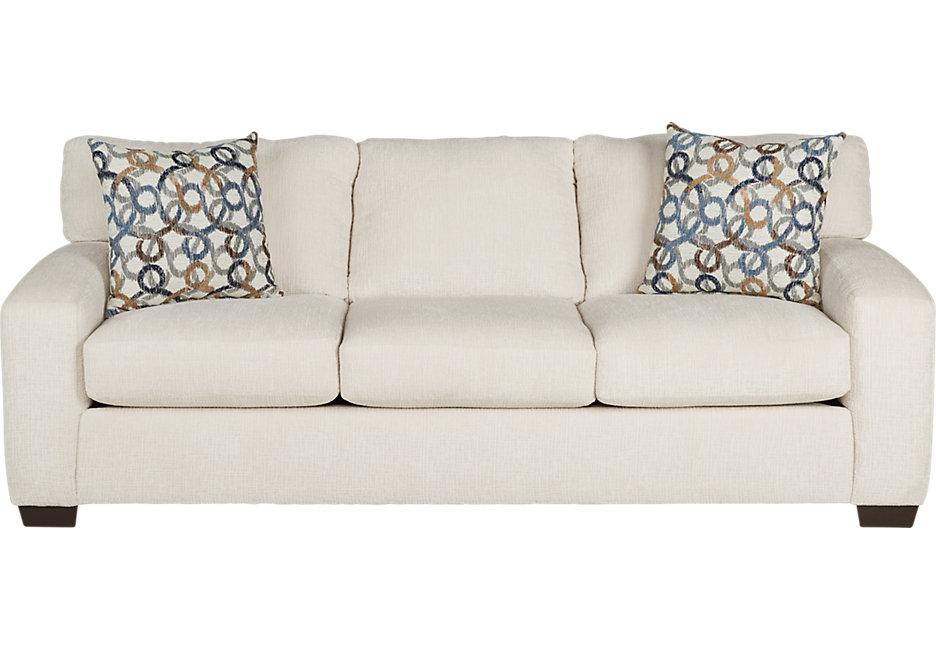 lucan cream sleeper sofa - sleeper sofas (beige) OJZQWOS