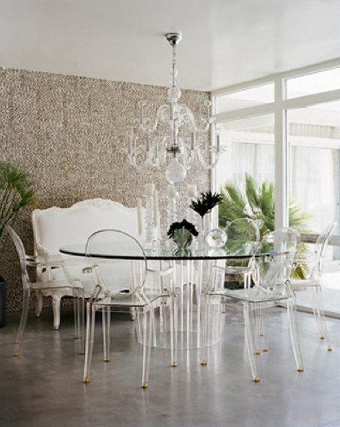 lucite furniture and the design of the furniture to the home draw with CGAGSQM