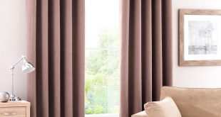 luna mocha blackout eyelet curtains NXMEDDJ