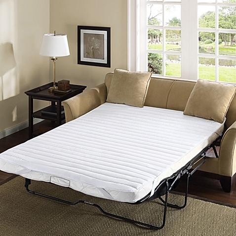 madison park essentials frisco microfiber sofa bed mattress pad PSKLHOB