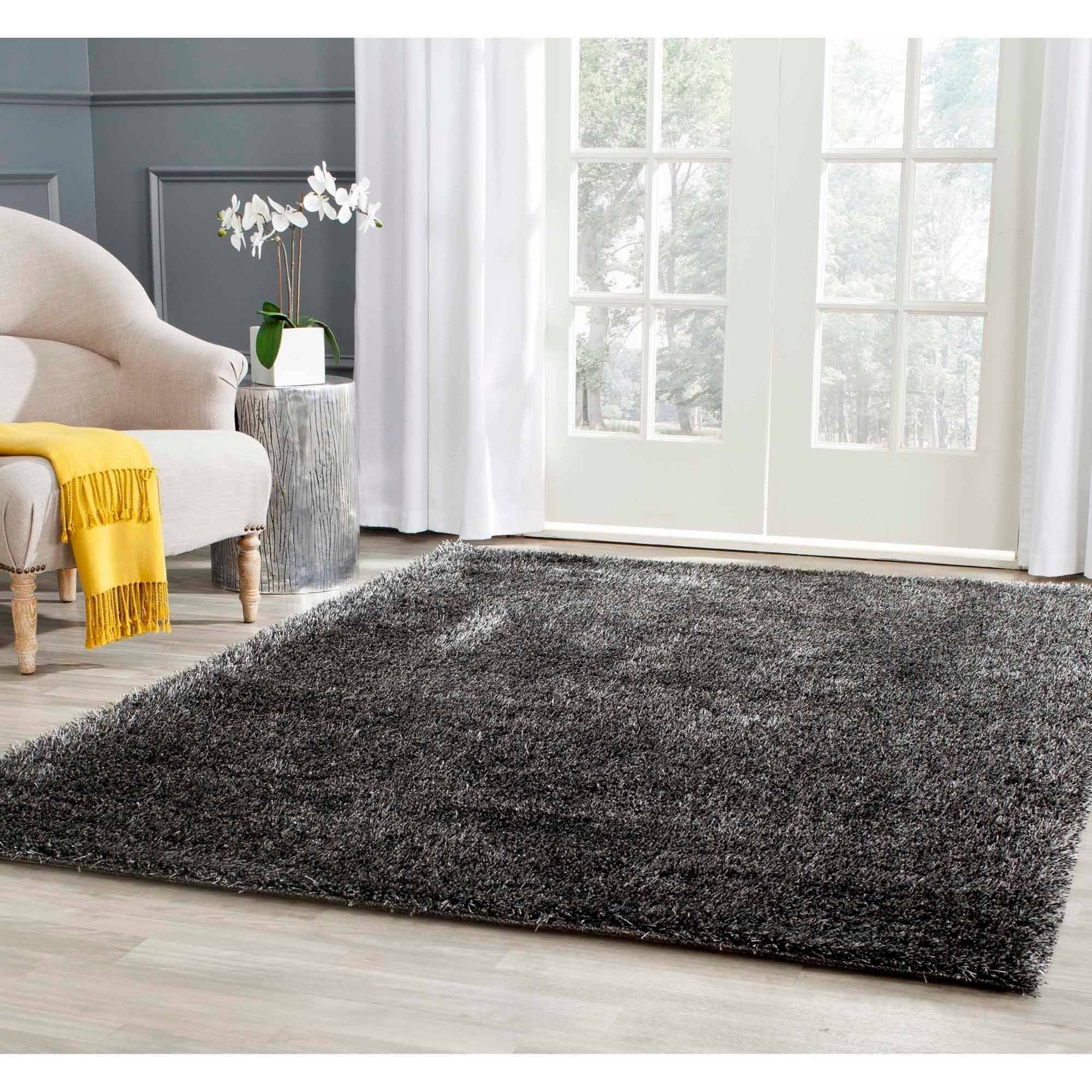 mainstays morgan shag area rugs or runner - walmart.com PXCTDEN