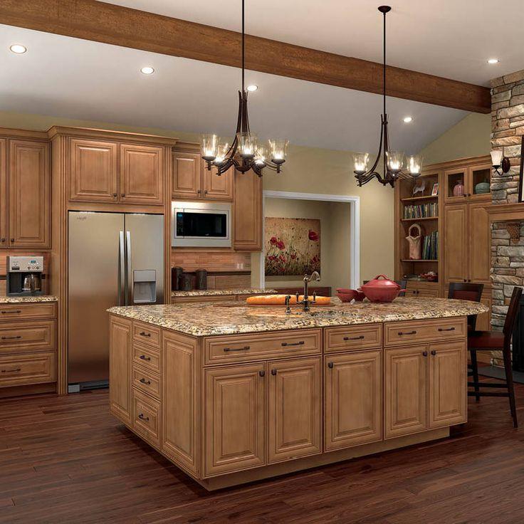 maple kitchen cabinets this is the cabinet shop shenandoah mckinley 14.5-in x 14.5625-in mocha  glaze. UBLRUND