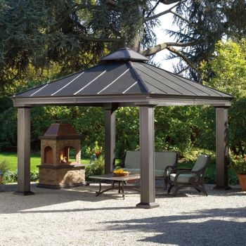metal gazebo kits : affordable custom made SMLNZPC
