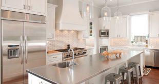 metal kitchen countertop ideas RKOSSSM