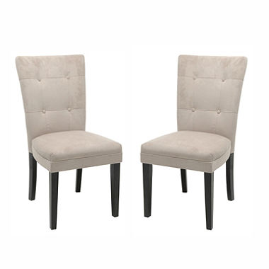 midtown beige parsons chairs (2 pk.) VBXTFRS