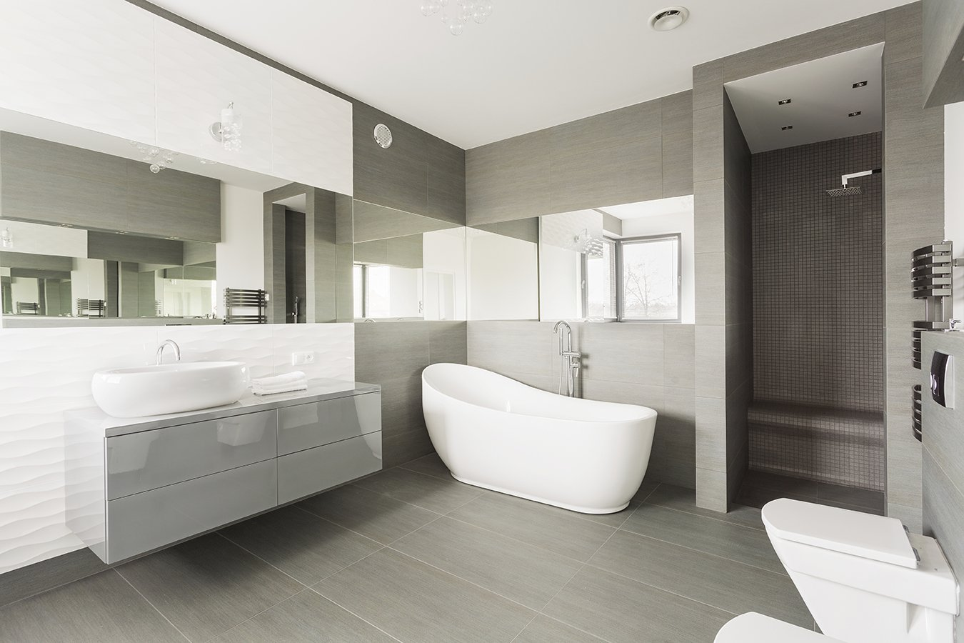 modern design bathroom renovations QXHNVIZ