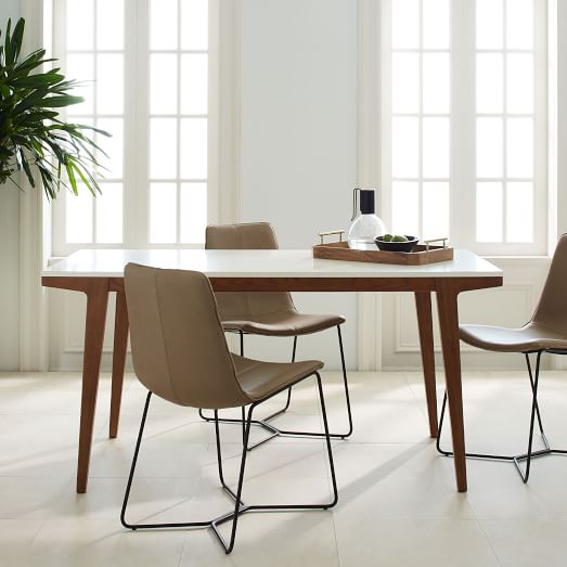 modern dining table modern expandable dining table RLNXZEH
