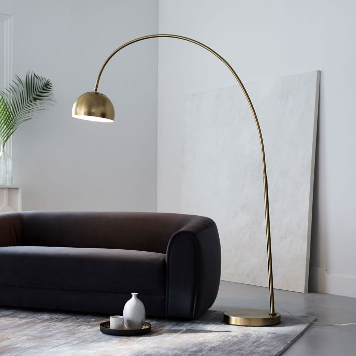 modern floor lamps overarching metal shade floor lamp $329 special $263 ZIDMDAB