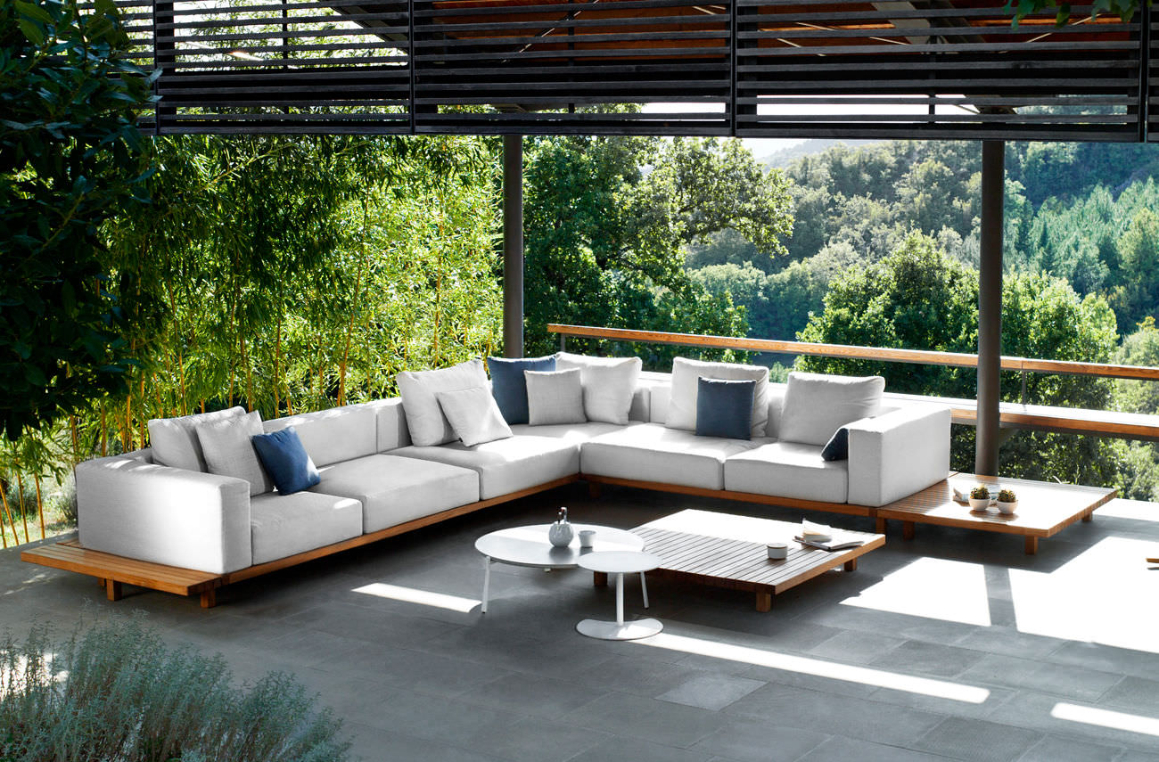 modern garden furniture teak outdoor furniture OPUTXXF