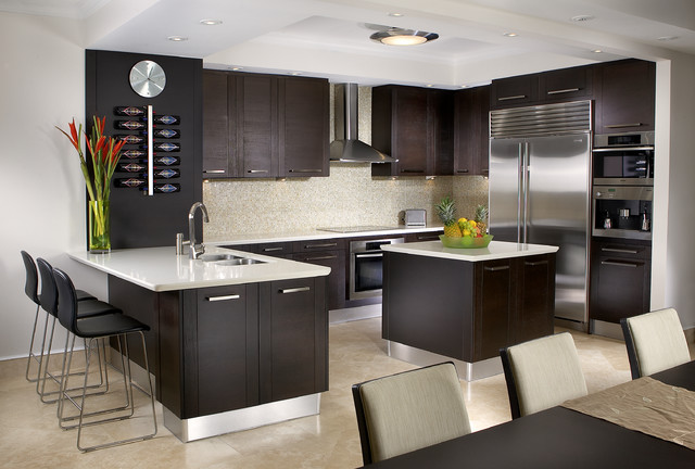 Breath taking kitchen interior design goodworksfurniture for Kitchen interior decorating ideas