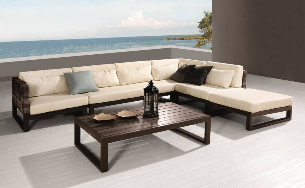 modern outdoor furniture modern outdoor sofa u0026 seating sets LXNOUAT