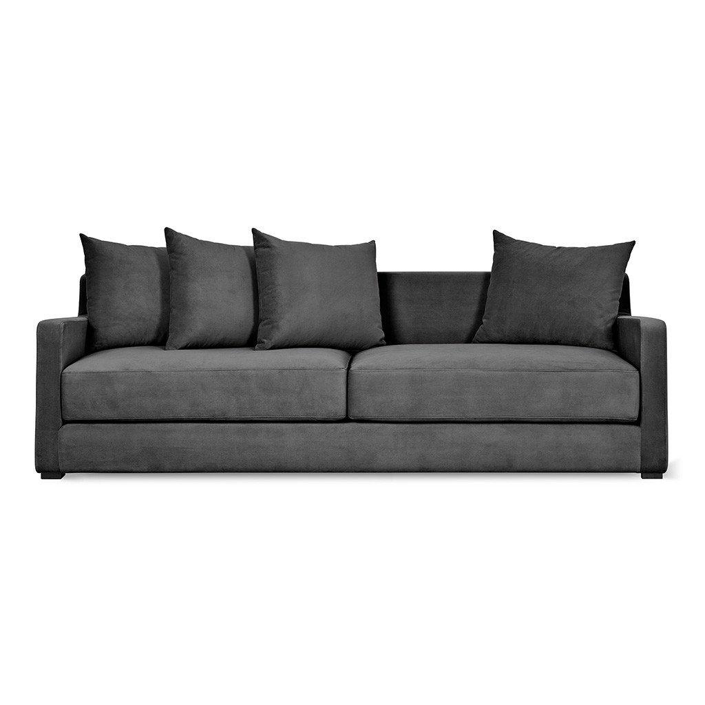modern sofa bed flipside sofabed | velvet mercury DEIQWNO