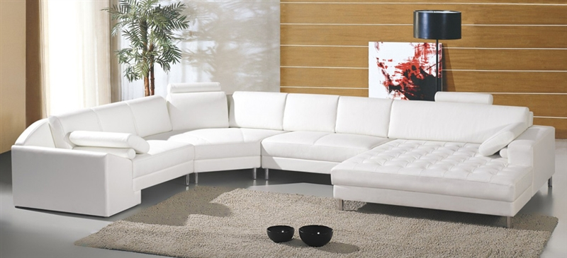modern white sectional sofa tos-lf-2236 WKYVRHW