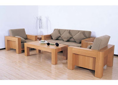 modern wooden sofa set designs CFAPNVE