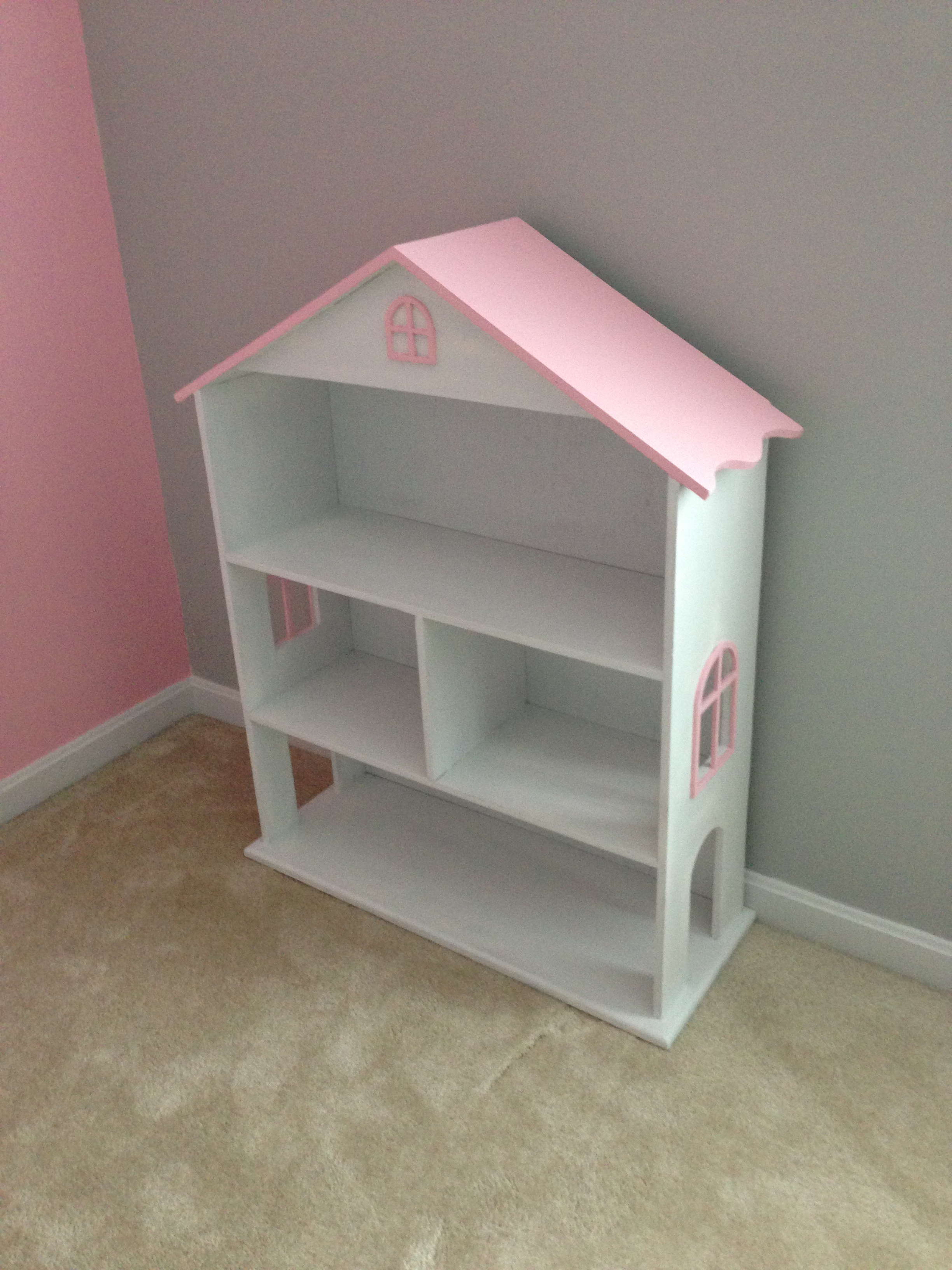 modified dollhouse bookcase MNFJJVI