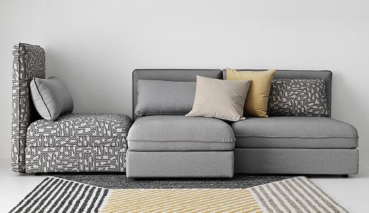 modular sectional sofa ikea modular sofas TXMNJRS