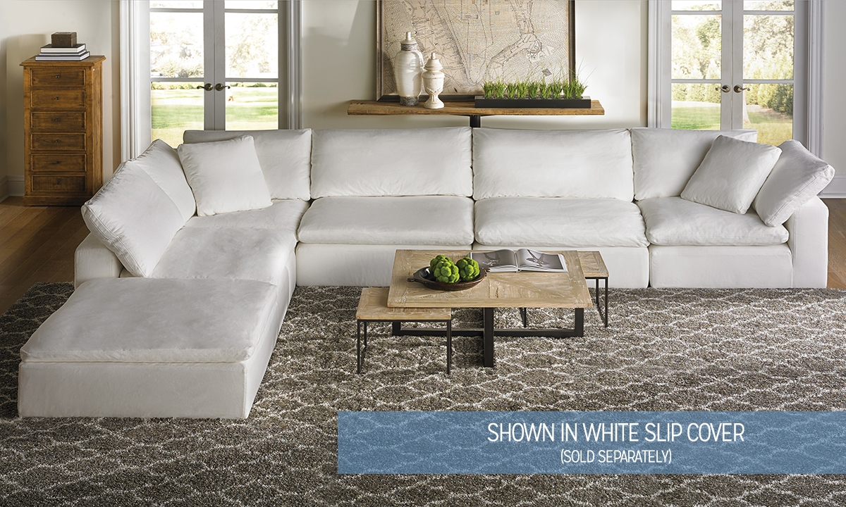 modular sectional sofa ... picture of luxe modular slipcover sectional ... IGPMAOR