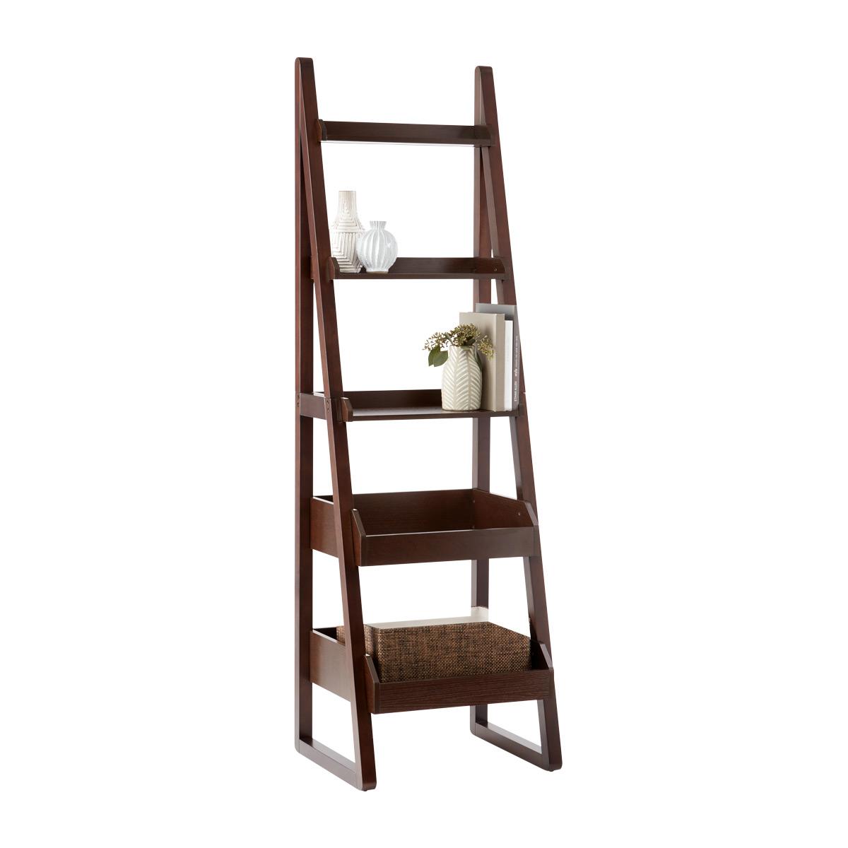 narrow bookcase walnut encore narrow bookshelf DRGABCZ