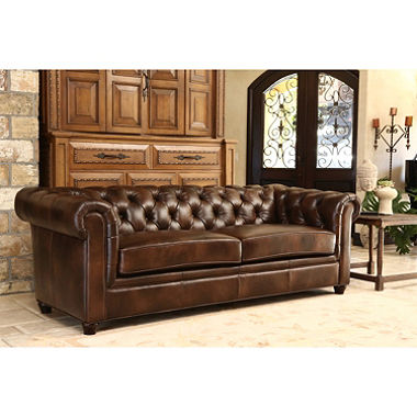 natali top-grain italian leather sofa EOQUVAN