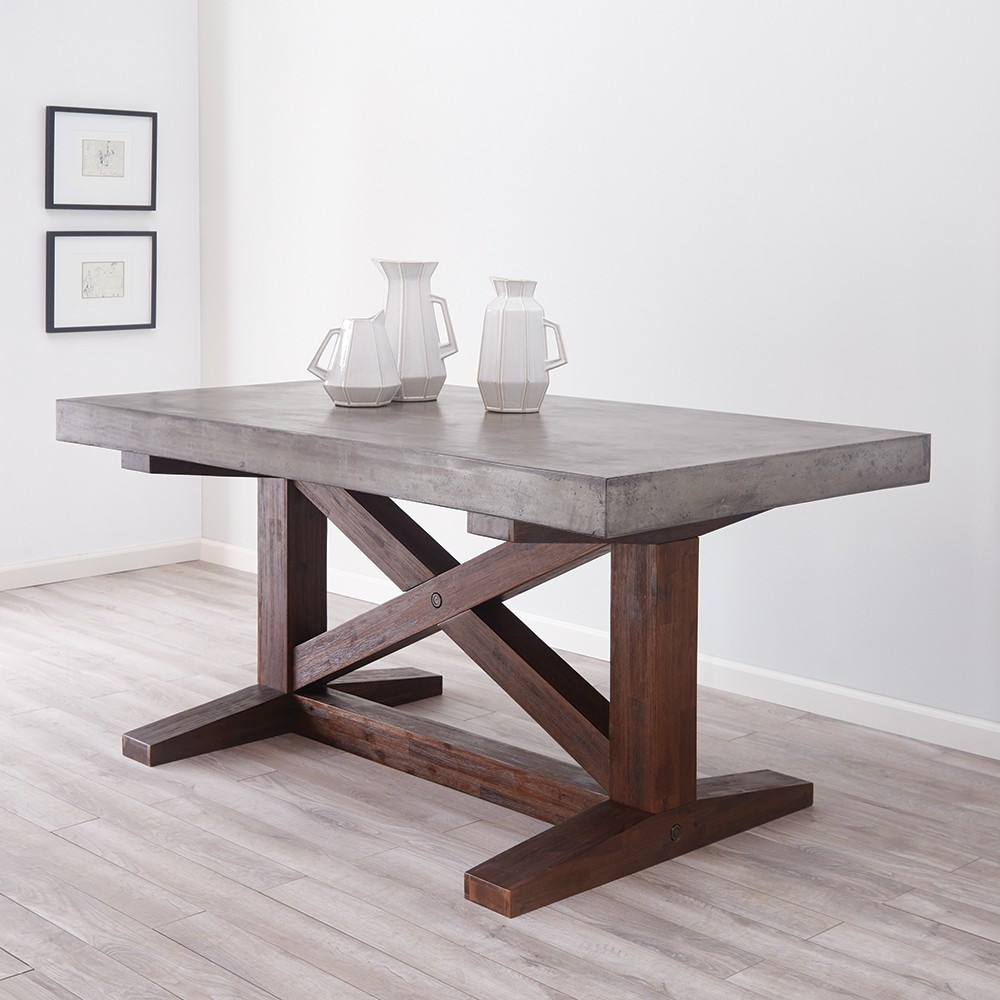 nativestone collection - 72-inch trestle table UPBJEBC