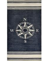 nautical rugs dynamic rugs nautical cotton rug (2u00273 x 4u00276) - 2 NOVJEUO