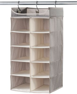 neatfreak harmony twill 2 x 5 shelf closet organizer AJDTTLT