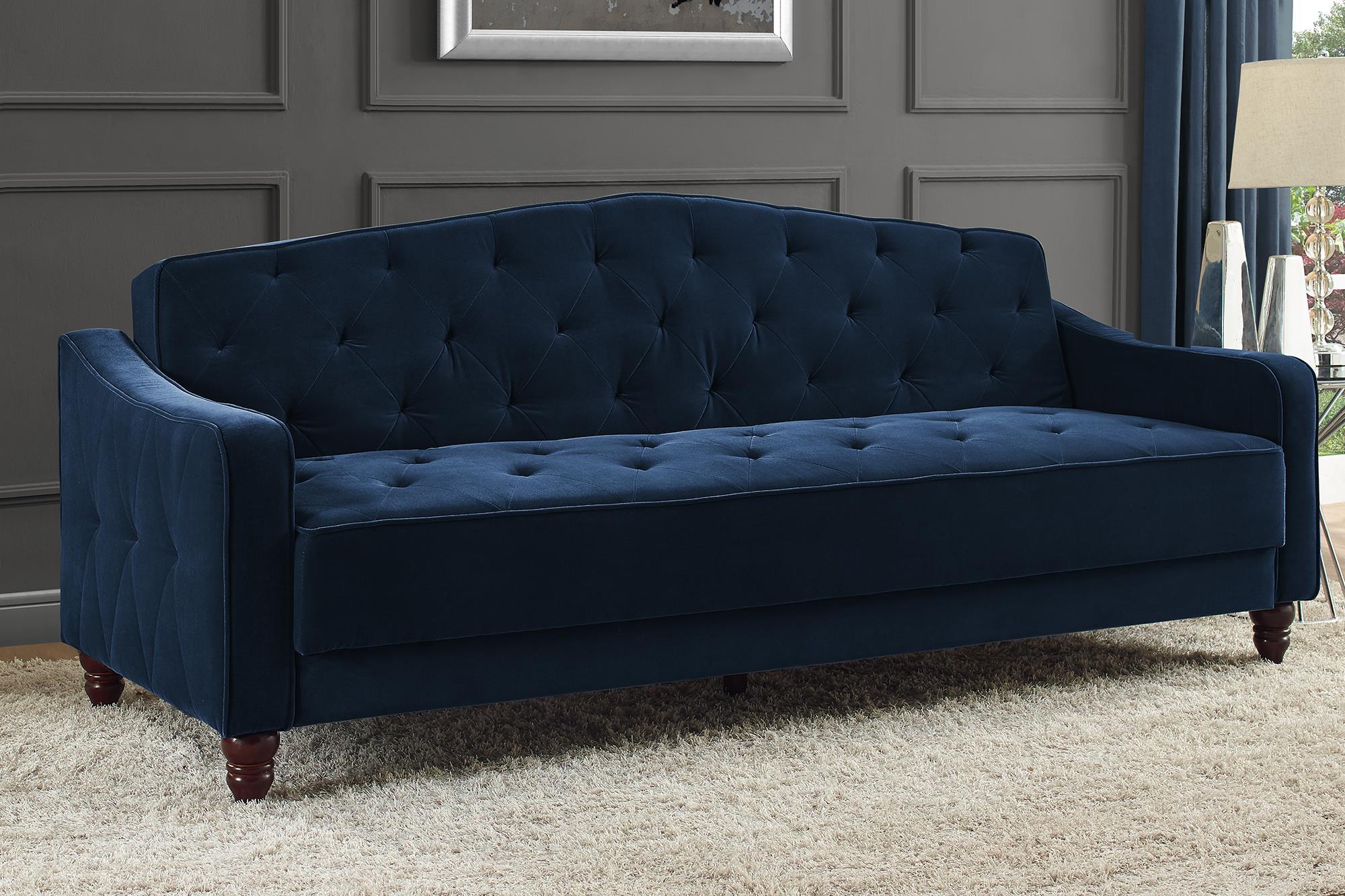 novogratz vintage tufted sofa sleeper ii, multiple colors ZSXFCBX