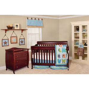 nursery furniture sets alice grace 4-in-1 convertible 2 piece crib set JLGMOAH