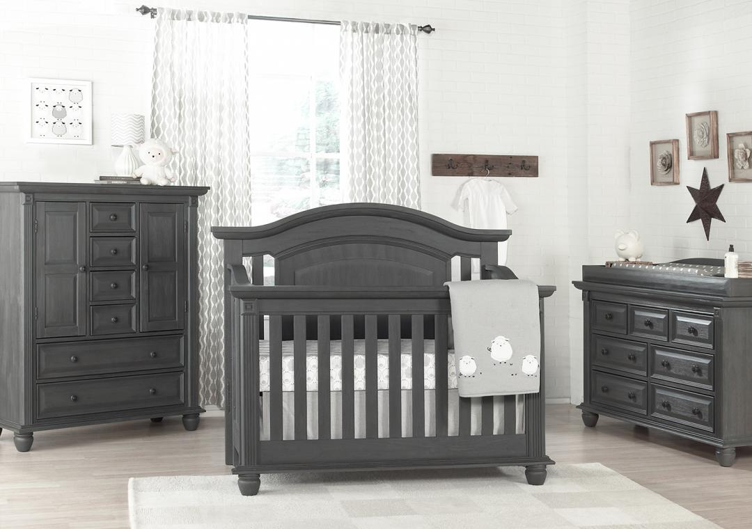 nursery furniture sets london lane - arctic gray HZDXAPM