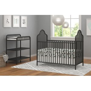 nursery furniture sets rowan valley lanley 2 piece metal crib set BGEIVVZ
