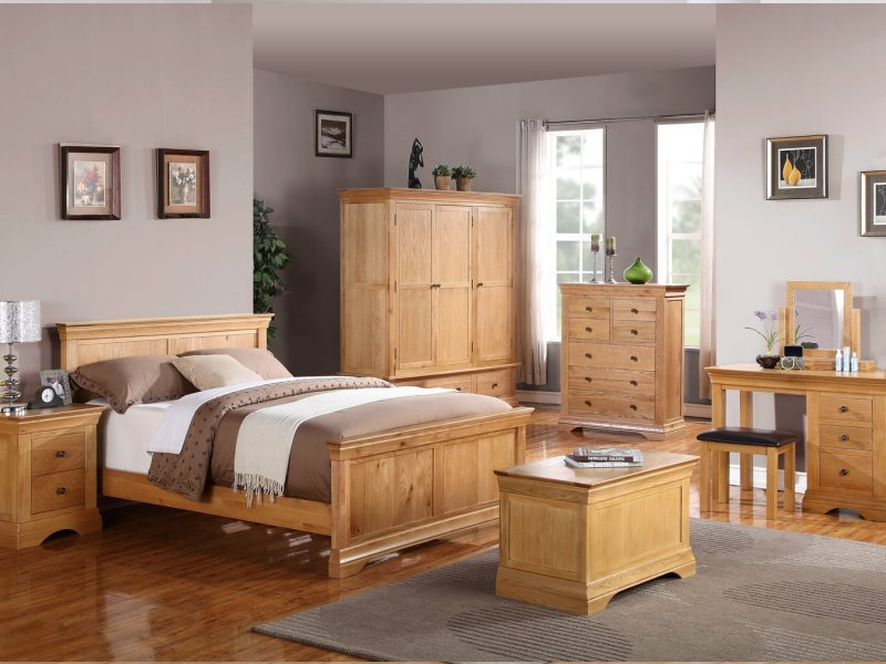 Oak Bedroom Furniture Bretagne Oak Furniture Bedroom L LQIIWOH