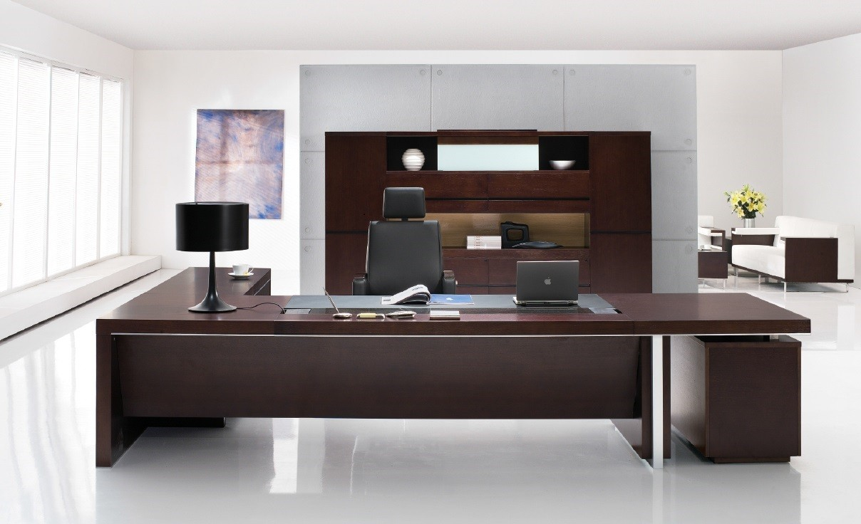 office desk gavin modern executive desk VISLZXK