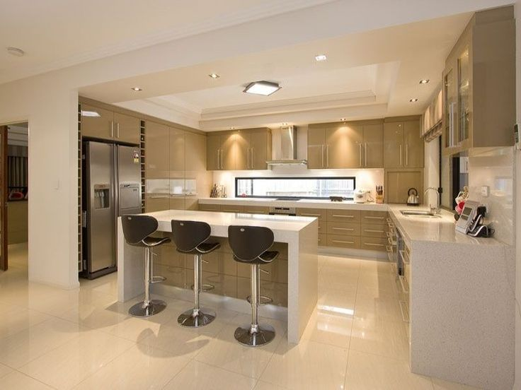open plan kitchen 16 open concept kitchen designs in modern style that will beautify your home YSIHQKJ
