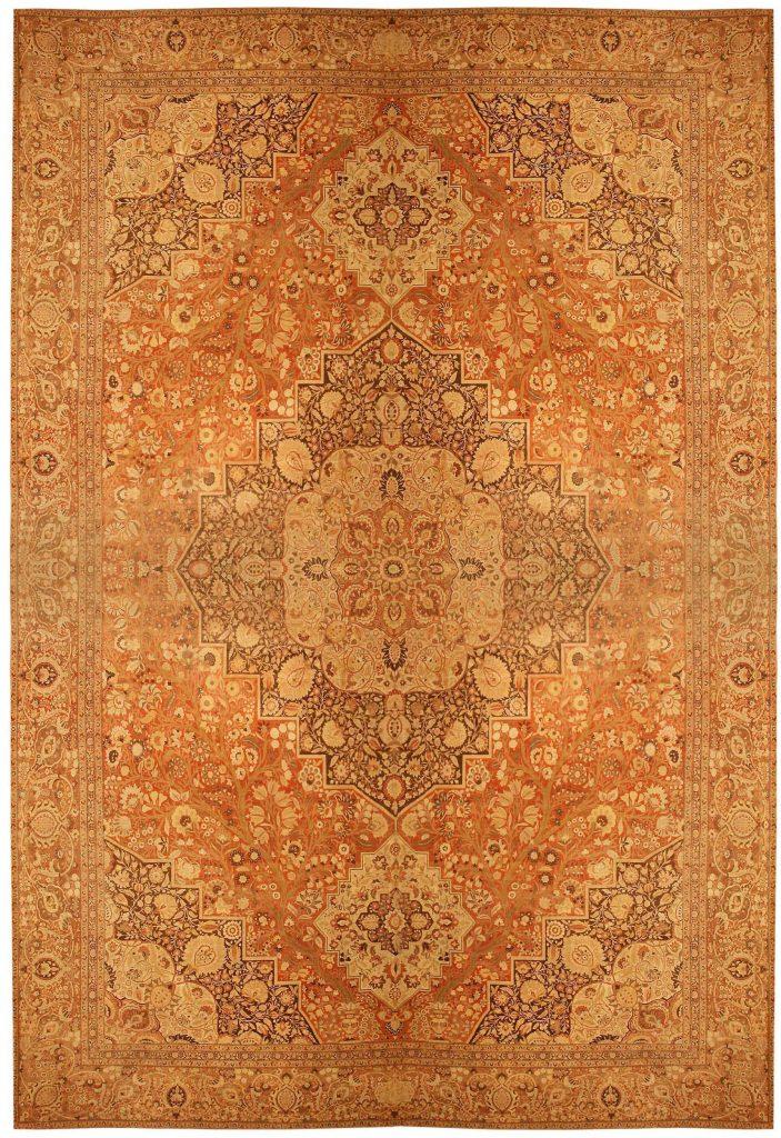 oriental rug antique tabriz persian rug 41353 nazmiyal WYCRBCB