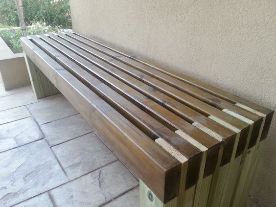 outdoor benches my new and amazing outdoor bench | do it yourself home projects from PTVETWR