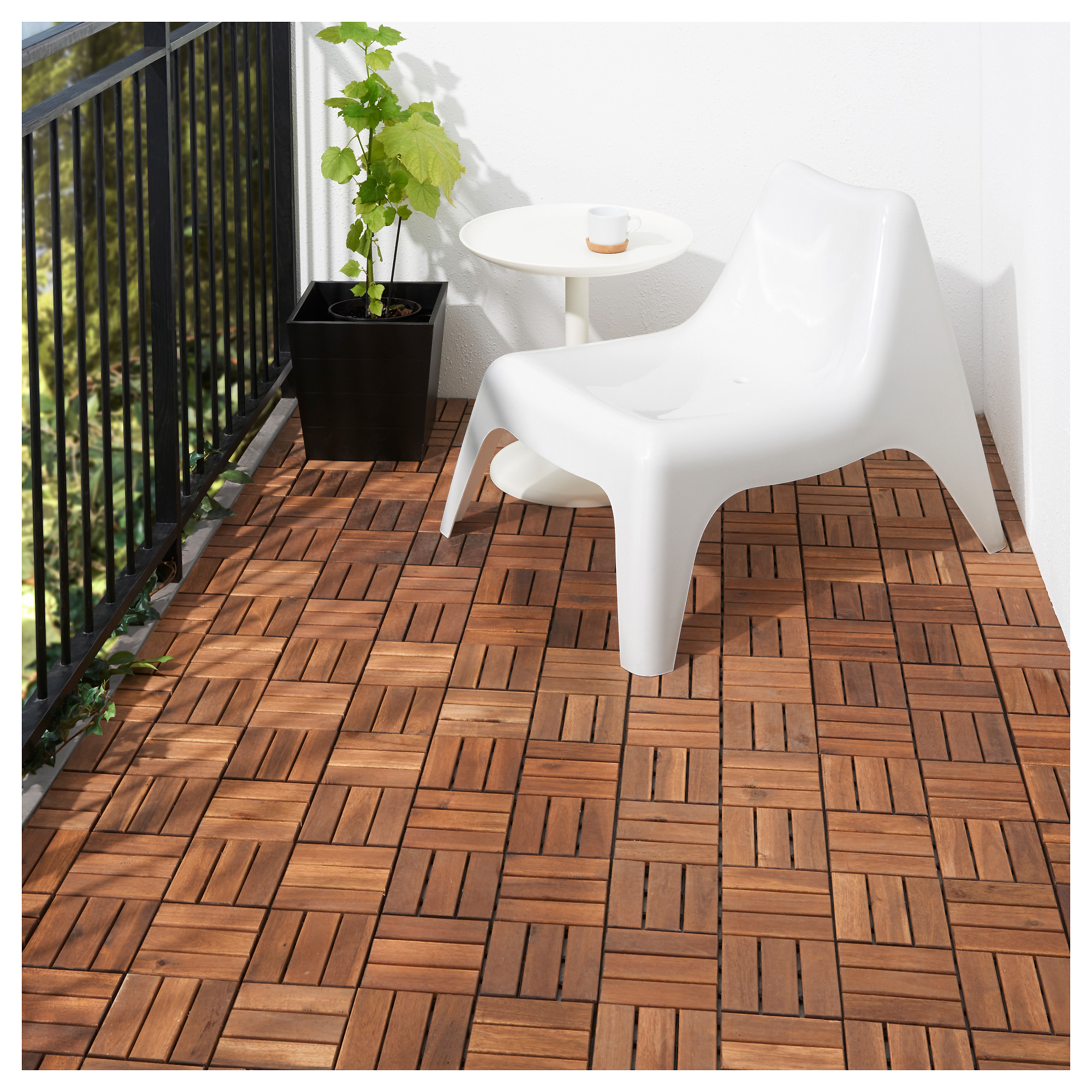 outdoor flooring runnen decking, outdoor - ikea DZIOARA