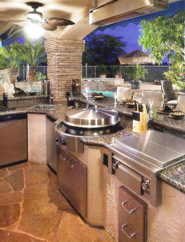 outdoor kitchen best 25+ outdoor kitchens ideas on pinterest | backyard kitchen, backyards  and QPUIZOG