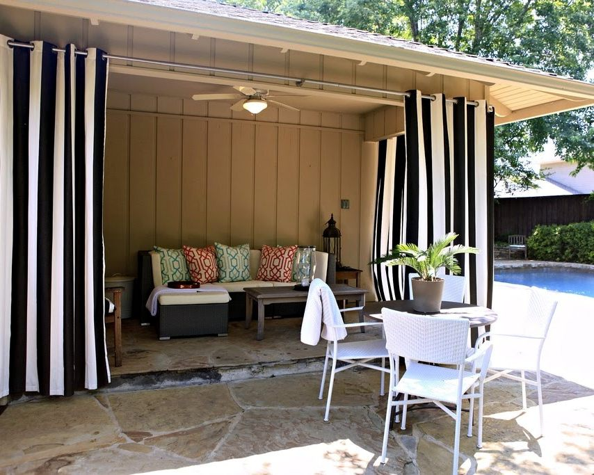 outdoor patio curtains amazon HHROKTO