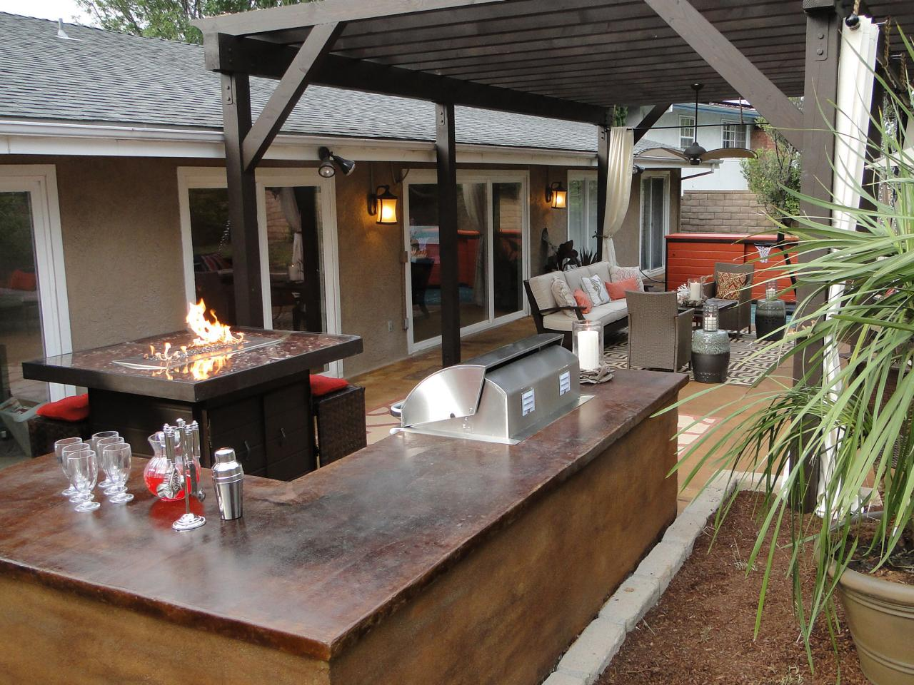 outdoor patio ideas patio bar ideas and options DIIHQTB