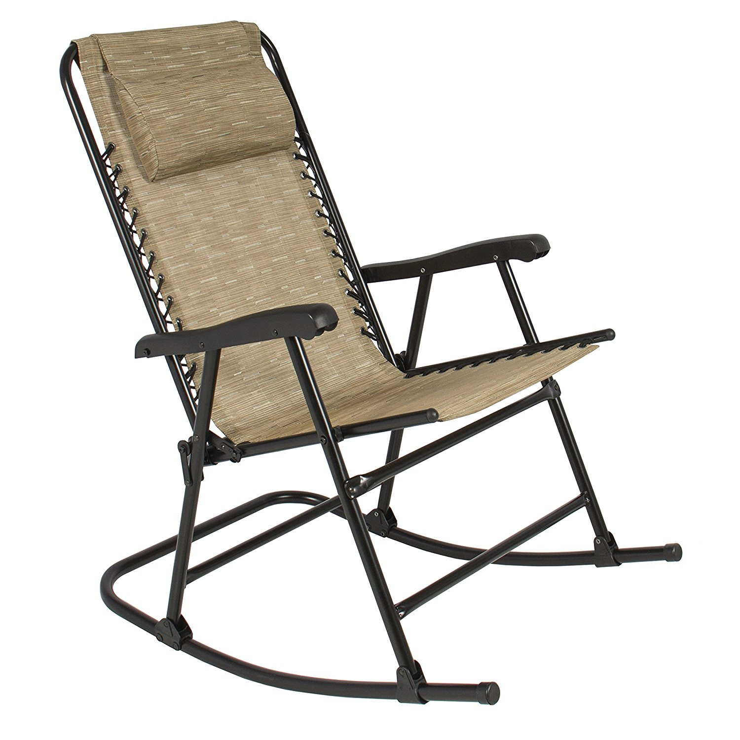 outdoor rocking chair amazon.com: best choice products folding rocking chair foldable rocker  outdoor patio furniture HAFTFQY